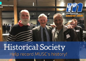 Join the MUSC Historical Society