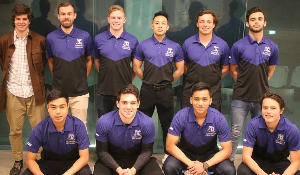 Uni Nationals Launch Team Photo